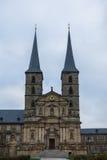 Abbaye Bamberg de Michaelsberg photographie stock libre de droits