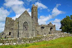 Abbaye Cie. Clare Irlande de Quin Photographie stock