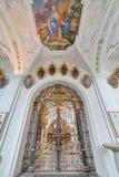 Abbaye cistercienne de Stams dans Imst, Autriche photographie stock