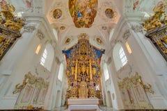 Abbaye cistercienne de Stams dans Imst, Autriche photo libre de droits
