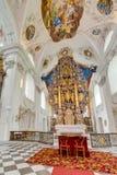 Abbaye cistercienne de Stams dans Imst, Autriche Photos libres de droits