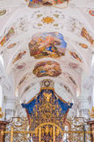 Abbaye cistercienne de Stams dans Imst, Autriche Images stock
