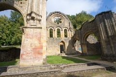 Abbaye cistercienne de trapista orval de bière de Notre Dame Belgique Images libres de droits