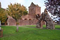 Abbaye d'amoureux, abbaye neuve, Dumfries, Ecosse images libres de droits