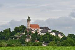 Abbaye d'Andechs Photo libre de droits