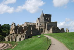 Abbaye d'Inchcolm Photos libres de droits