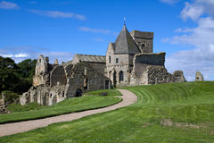 Abbaye d'Inchcolm Photo stock