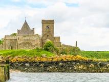 Abbaye d'Inchcolm dans Firth d'en avant Edimbourg, Ecosse photographie stock libre de droits