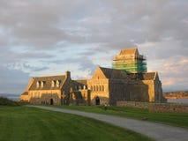 Abbaye d'Iona au crépuscule Image stock