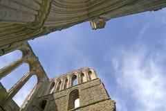 Abbaye de 9034 Rievaulx, Yorkshire du nord, Angleterre l'avril 2006 Photos libres de droits