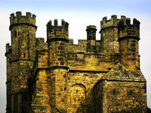 Abbaye de bataille photo libre de droits