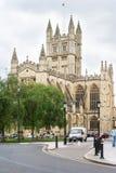 Abbaye de Bath à Bath Somerset, Angleterre Photo stock