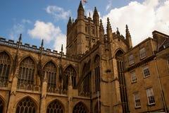 Abbaye de Bath Photos stock