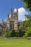Abbaye de Bath, Somerset, Angleterre Image libre de droits