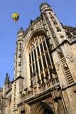 Abbaye de Bath - ville de Bath - l'Angleterre Photographie stock libre de droits