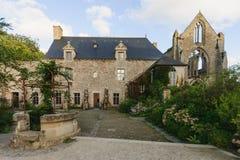 Abbaye de Beauport. Paimpol, Cotes-d'Armor, Brittany, France Stock Image