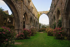 Abbaye de Beauport. Paimpol, Cotes-d'Armor, Brittany, France Stock Images