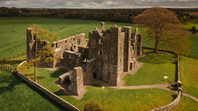 Abbaye de Bective garniture r l'irlande images stock