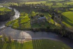 Abbaye de Bolton dans Wharfedale, North Yorkshire, Angleterre image libre de droits