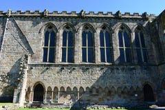 Abbaye de Bolton, Wharfedale, North Yorkshire, Angleterre image stock