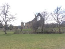 Abbaye de Bolton, Yorkshire du nord photographie stock