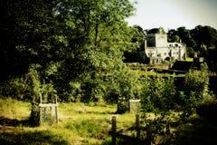 Abbaye de buckland de champs de pommiers Image libre de droits