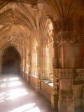 Abbaye de Cadouin,多尔多涅省(法国) 图库摄影