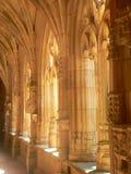 Abbaye de Cadouin,多尔多涅省(法国) 免版税库存照片