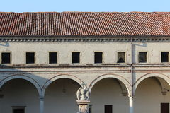 Abbaye de Carceri Images libres de droits