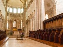 Abbaye De die Heilig-Benoît-sur-Loire Stockfoto