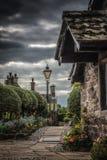 Abbaye de fontaines dans Yorkshire, Angleterre Photo libre de droits
