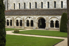 Abbaye de Fontenay Image libre de droits