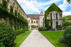 Abbaye de Fontenay Photos stock