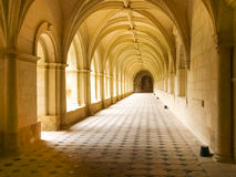 abbaye de fontevraud Arkivbilder