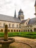Abbaye de Fontevraud Lizenzfreies Stockfoto