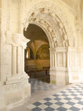 abbaye de fontevraud Royaltyfria Bilder