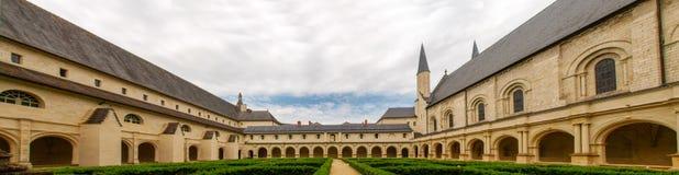 abbaye de fontevraud Arkivfoto