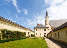 abbaye de fontevraud Royaltyfri Bild
