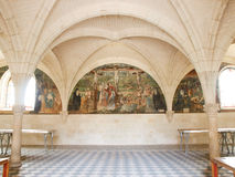 abbaye de fontevraud Arkivbild