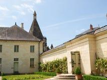 Abbaye de Fontevraud Stockbild