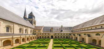 Abbaye de Fontevraud Photos stock