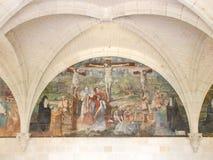 Abbaye de Fontevraud Stock Photography