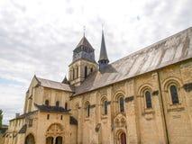 Abbaye de Fontevraud Stock Photo