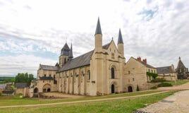 Abbaye de Fontevraud Royalty Free Stock Images
