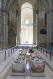 abbaye de fontevraud france val loire Royaltyfri Foto