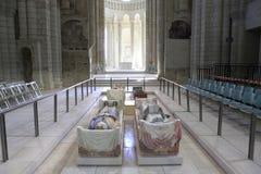 abbaye de fontevraud france val loire Royaltyfri Bild