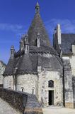 abbaye de fontevraud france val loire Arkivfoto