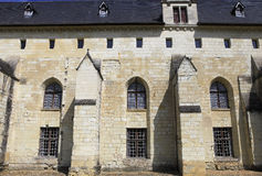 abbaye de fontevraud france val loire Arkivfoton