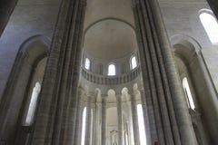 Abbaye de Fontevraud, Loiretal, Frankreich Stockbilder