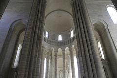 Abbaye de Fontevraud, Val de Loire, France Stock Images